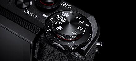 PowerShot G7 X Mark2 ダイヤル
